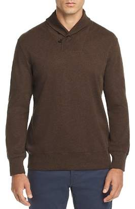 OOBE Tradd Shawl-Collar Pullover Sweater