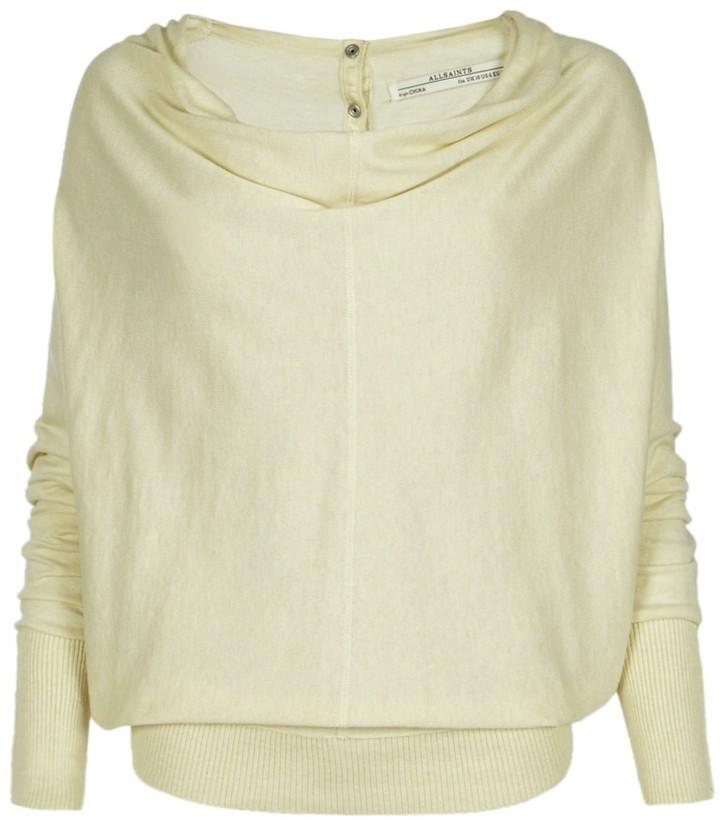 AllSaints Elgar Cowl Neck Sweater