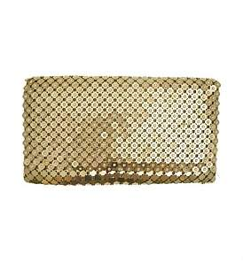 Gregory Ladner Mesh Flap Bag With Stone