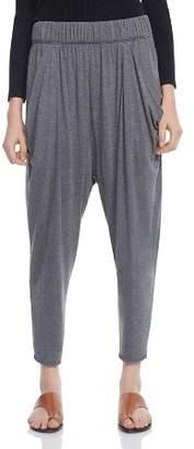 Halston Draped Jersey Harem Pants