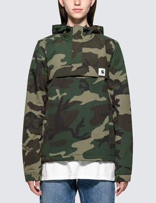 Carhartt Work In Progress Nimbus Camo Pullover Jacket
