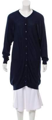 Maison Margiela Wool Longline Cardigan