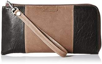 Ellington Leather Goods EVA Large Colorblock Zip BL Wallet