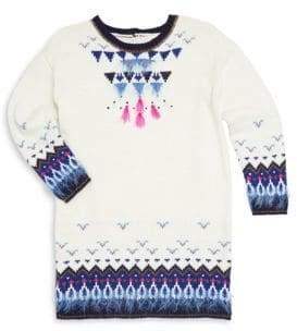 Catimini Little Girl's& Girl's Fancy Knit Dress