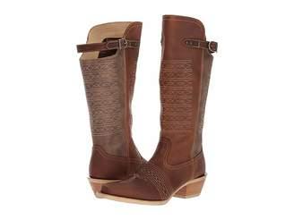 Durango Crush 14 Belted Collar Cowboy Boots