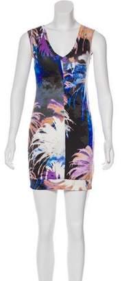 Trina Turk Printed Palm Tree Dress