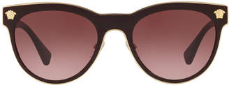 Versace Ve2198 54 Red Square Sunglasses