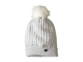 Obermeyer Beulah Knit Hat w/ Faux Fur Pom