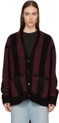 6397 Black and Red Kurt Cardigan
