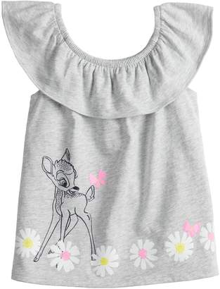 Disneyjumping Beans Disney's Bambi Toddler Girl Graphic Ruffled Tank Top by Jumping Beans