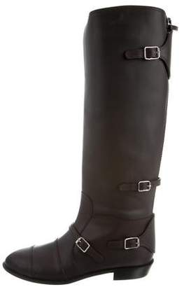 Giuseppe Zanotti Leather Knee-High Boots w/ Tags