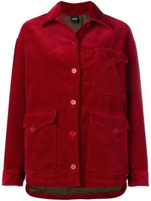 Aspesi Long corduroy jacket