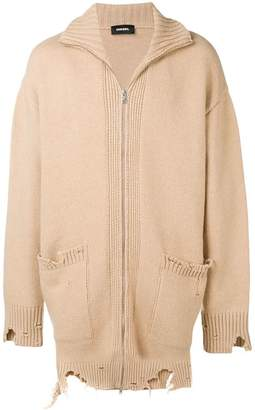Diesel K-ZAK knitted cardigan