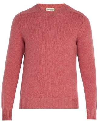 Connolly - Crew Neck Wool Blend Sweater - Mens - Pink