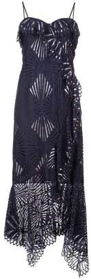 Jonathan Simkhai asymmetric bustier dress