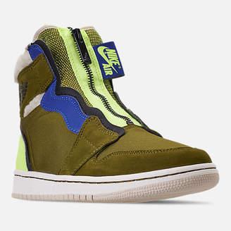 Nike Women's Air Jordan 1 High Zip Casual Shoes