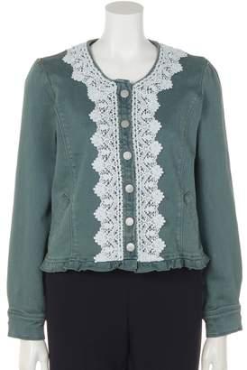 ファッションウォーカー アウトレット [MALIANI]脱スタンダードキュート溢れるデニムジャケット