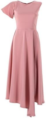 Emelita Light Rose Maxi Sleeve Shirt Dress