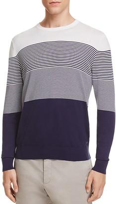 Z Zegna Micro Stripe Sweater $395 thestylecure.com
