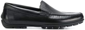Geox stitch front loafers