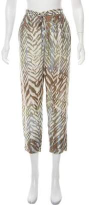 Of Two Minds Silk-Blend Pants