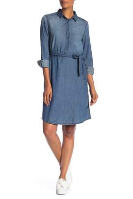 Joe Fresh Long Sleeve Side Tie Dress