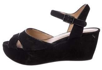Salvatore Ferragamo Platform Wedge Sandals