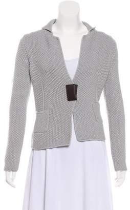 Fabiana Filippi Merino Wool Cable Knit Cardigan