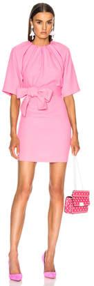 Maison Margiela Mid Sleeve Belted Mini Dress