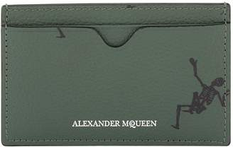 Alexander McQueen Dancing Skeleton Card Holder
