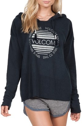 Volcom 'Lived In' Graphic Hooded Pullover $49.50 thestylecure.com
