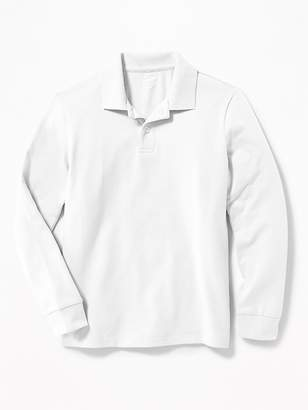 Old Navy Stain-Resistant Uniform Polo for Boys