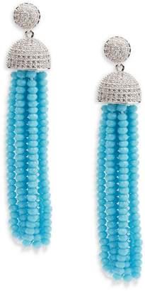 Saks Fifth Avenue Women's Silvertone Cubic Zirconia Earrings