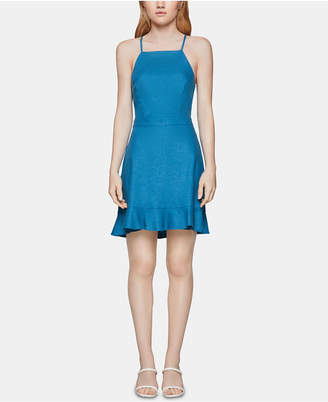 BCBGeneration Ruffle-Hem Fit & Flare Dress