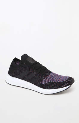 adidas Swift Run Primeknit Black & Gray Shoes