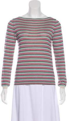 Prada Striped Knit Top