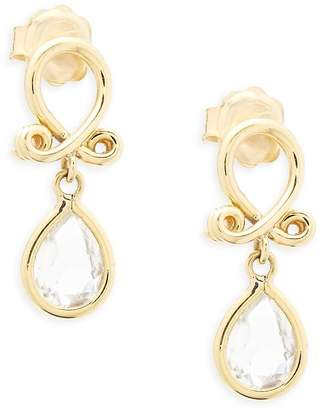 Temple St. Clair Women's 18k Yellow Gold Loop Earrings