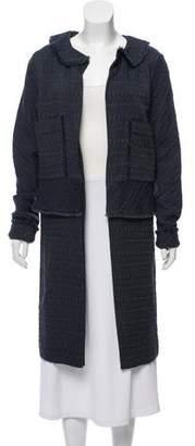 Marni Silk Textured Cardigan