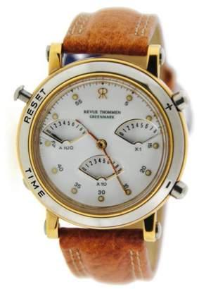 Revue Thommen Greenmark 6423001 Two Tone Stainless Steel Quartz 36mm Unisex Watch