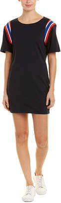 Pam & Gela Sport Stripe Shift Dress