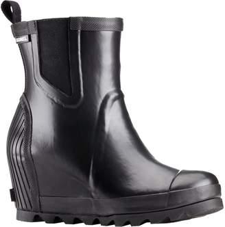 Sorel Joan Rain Wedge Chelsea Boot - Women's