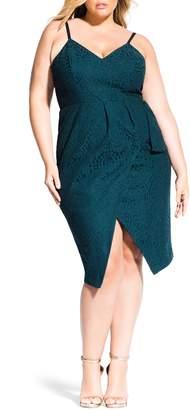 City Chic Amare Lace Dress
