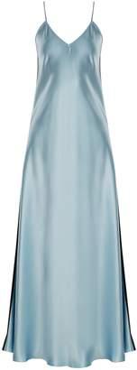 RACIL Geiko V-neck silk-satin slip dress