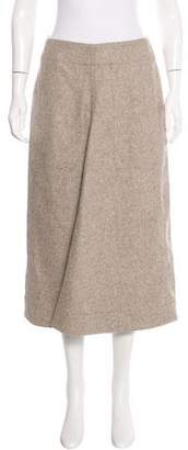 Christophe Lemaire Virgin Wool & Cashmere Skirt w/ Tags