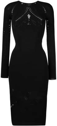 Pinko fitted cut-out dress