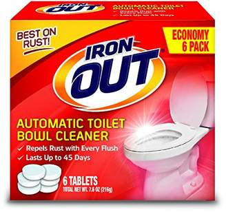 Summit Brands Iron OUT Automatic Toilet Bowl Cleaner