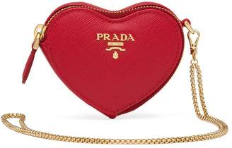 Prada heart mini bag