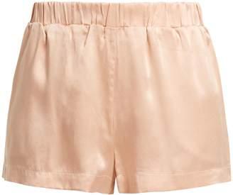 ASCENO Silk pyjama shorts