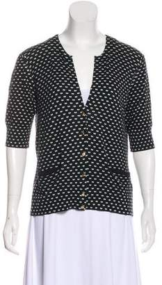 Marc by Marc Jacobs Printed Button-Up Cardigan