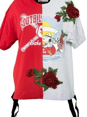 Night Market Night Market Beaded Embroidery T-shirt